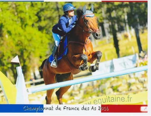 Agathe & Beautiful championnat des As CSO 2016